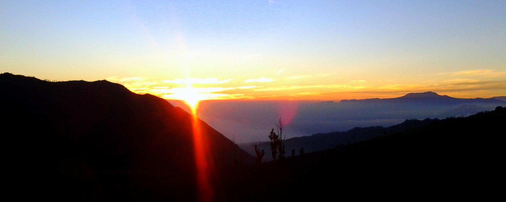 Sunrise @Bromo